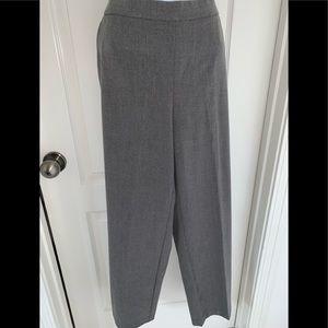 Gray slacks size 12 P
